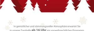 Flyer Weihnachtsfeier