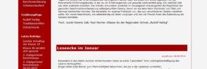 "Webseite Regionale Schule ""Rudolf Harbig"""